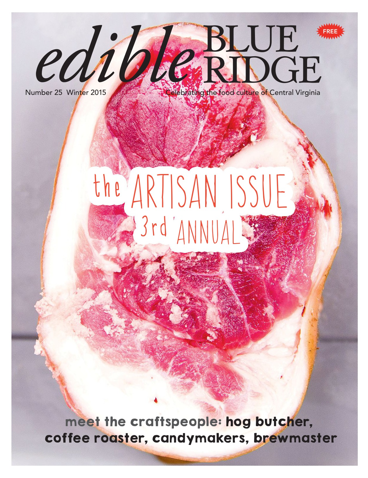 Edible Blue Ridge - Winter 2015