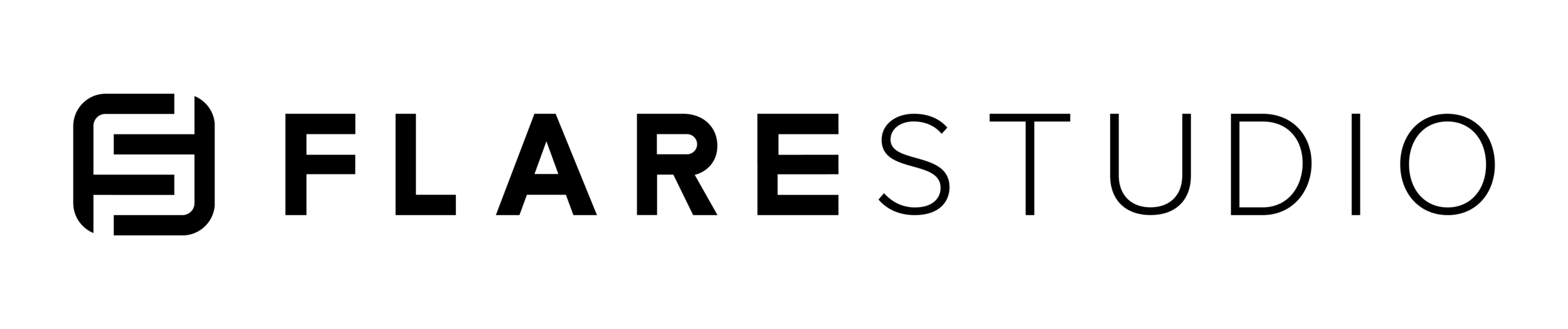 03_Flare Logo_Black on white.png