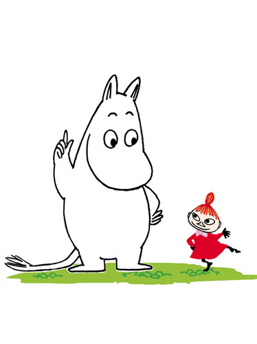 Moomin and Little My