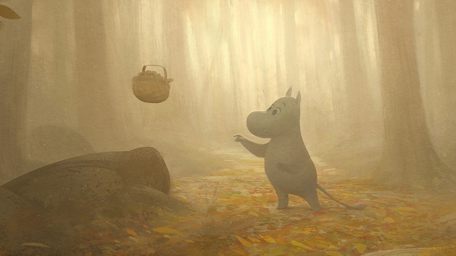 Advance still image of Moomin in the new series. Pretty, isn't it? Gave me hope.