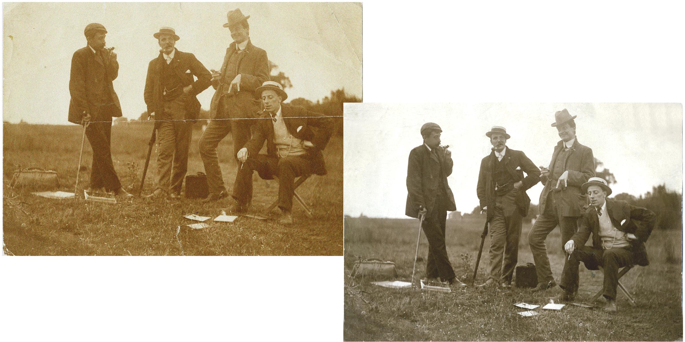 gentlemen restoration sample