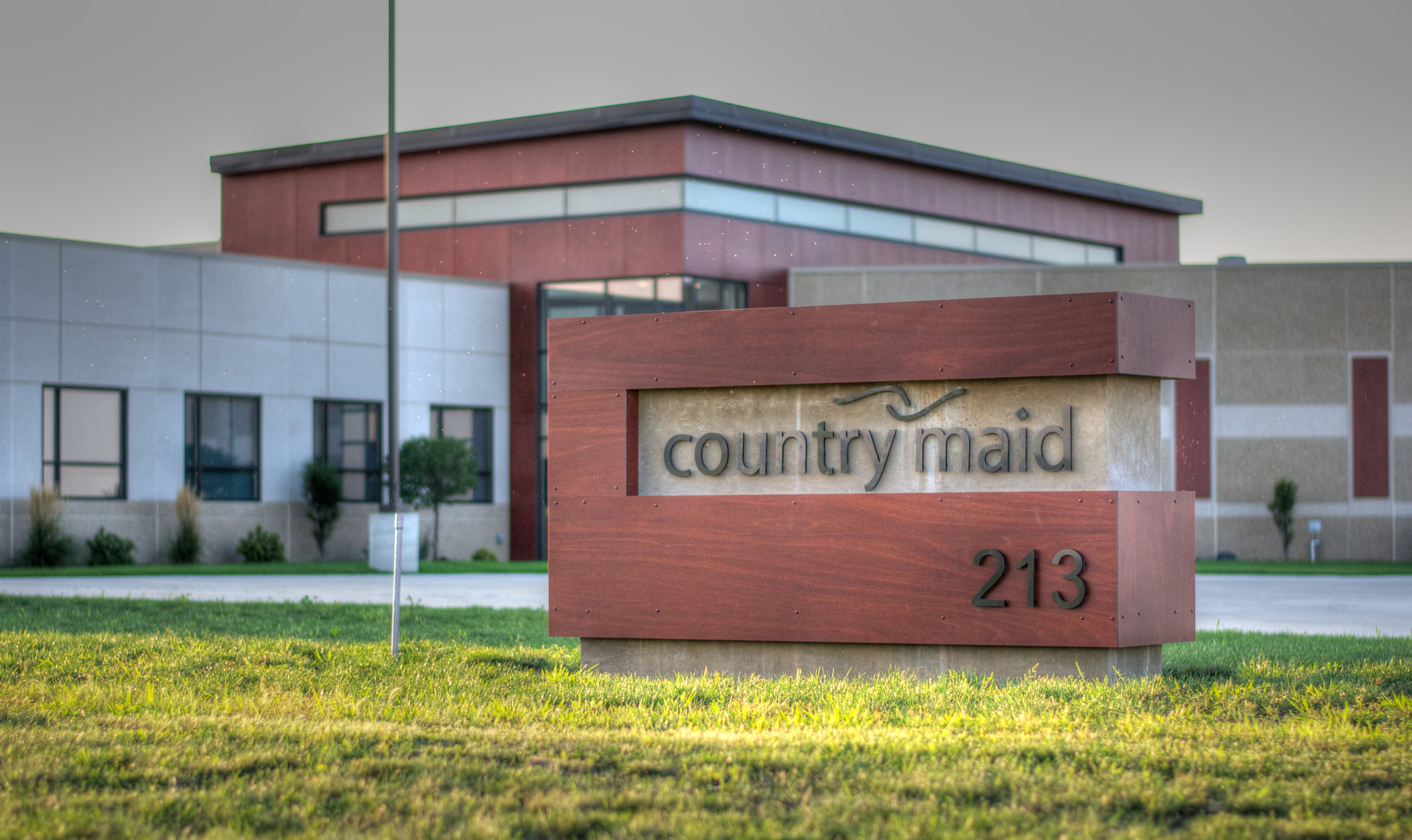 Country Maid Sign