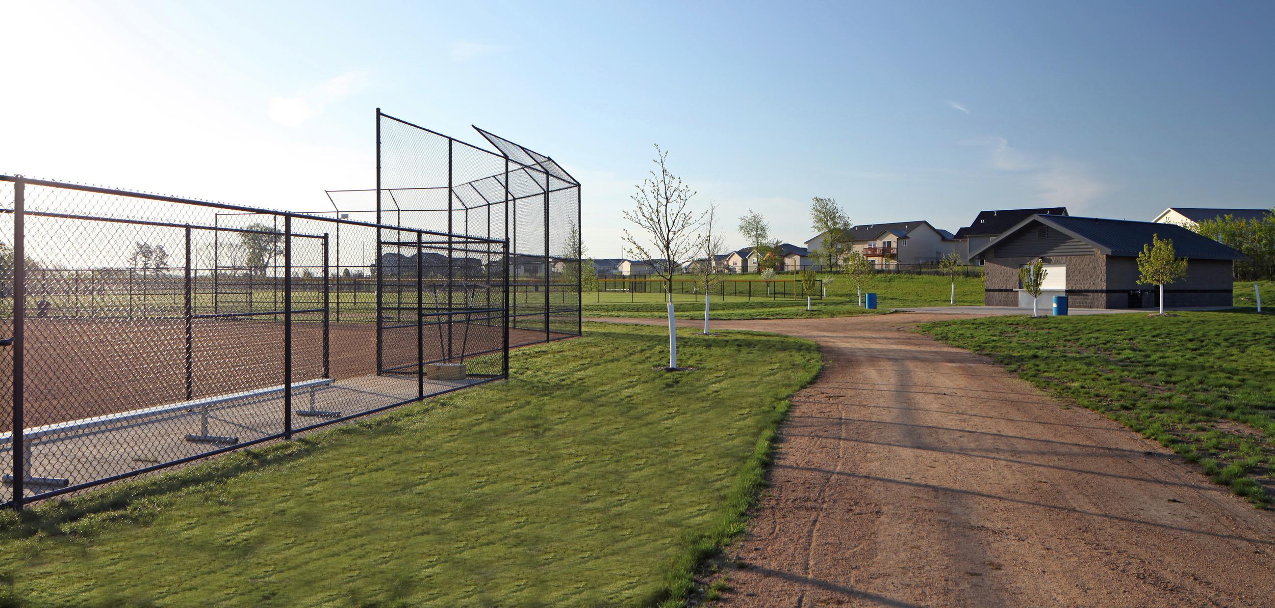 Ball Field & Maintenance Building