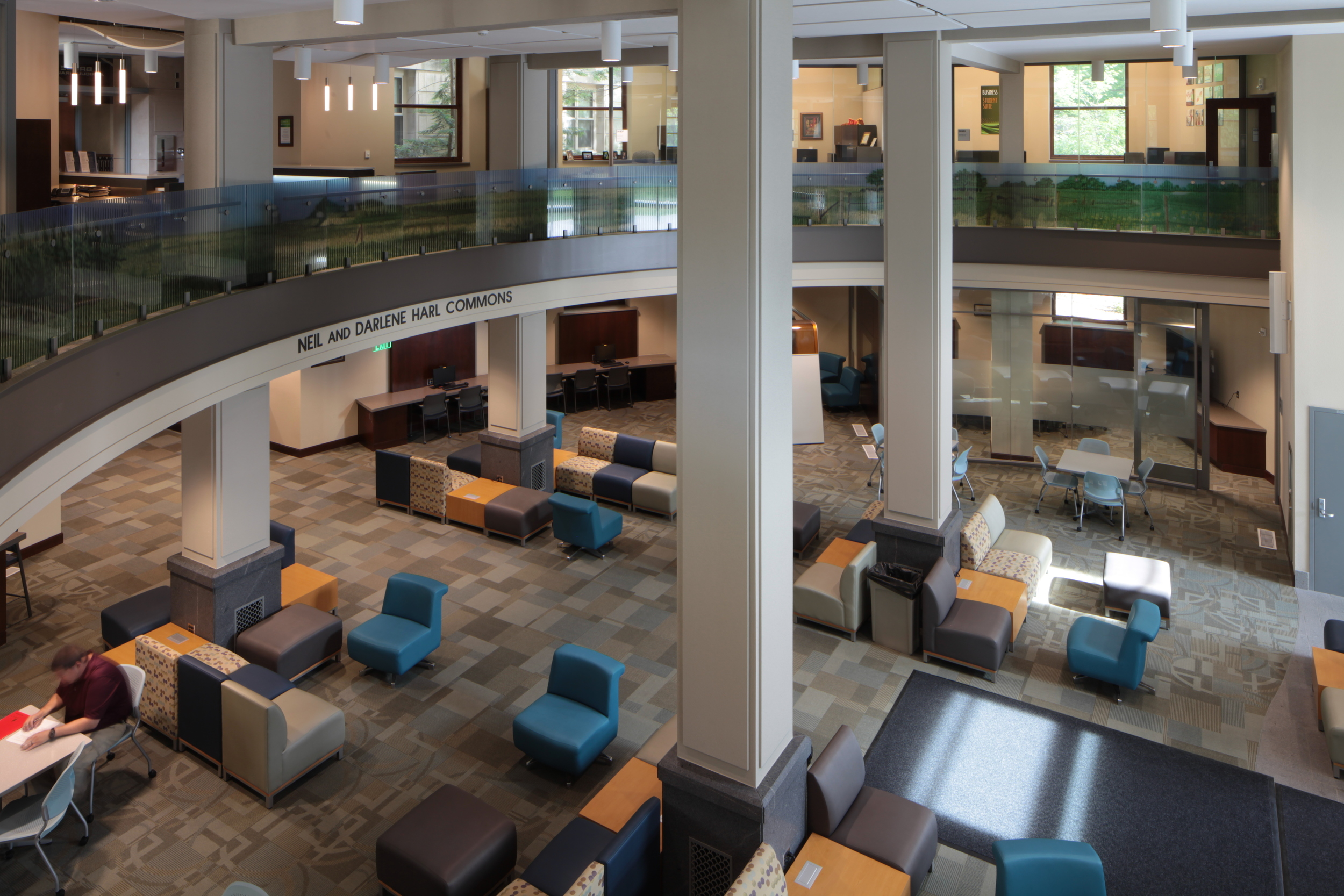 Curtiss Hall Harl Commons