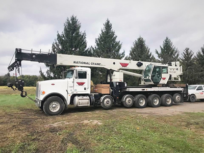 National NBT 55-Ton Mobile Crane