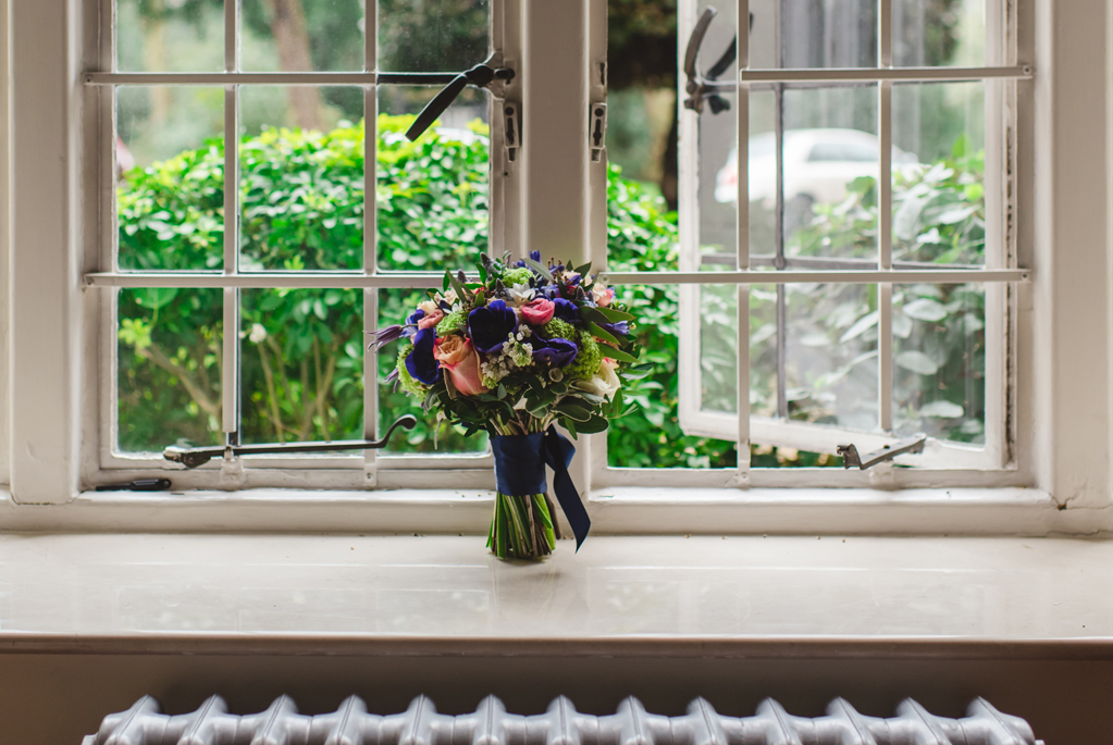bridal bouquet - photography by Sophie Duckworth