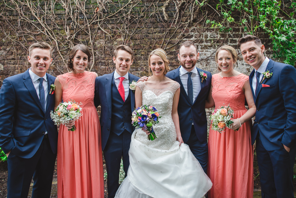 bridal party - photography by Sophie Duckworth