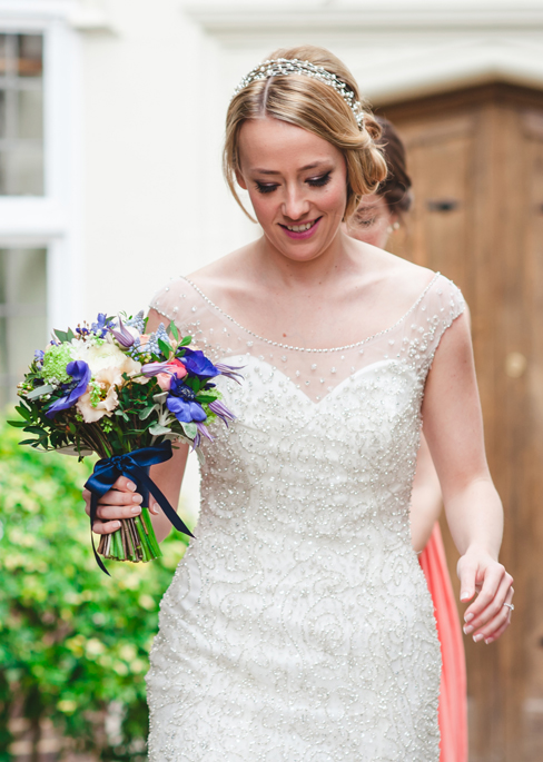 here comes the bride - photography by Sophie Duckworth