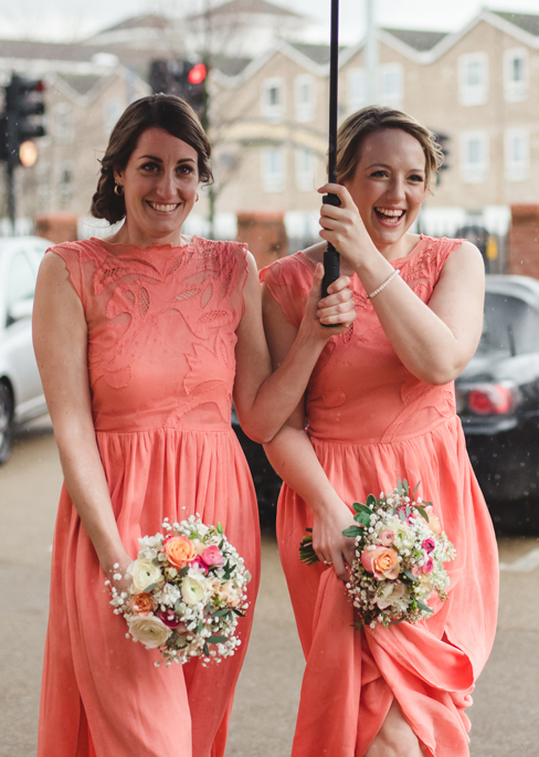 lovely bridesmaids - photography by Sophie Duckworth