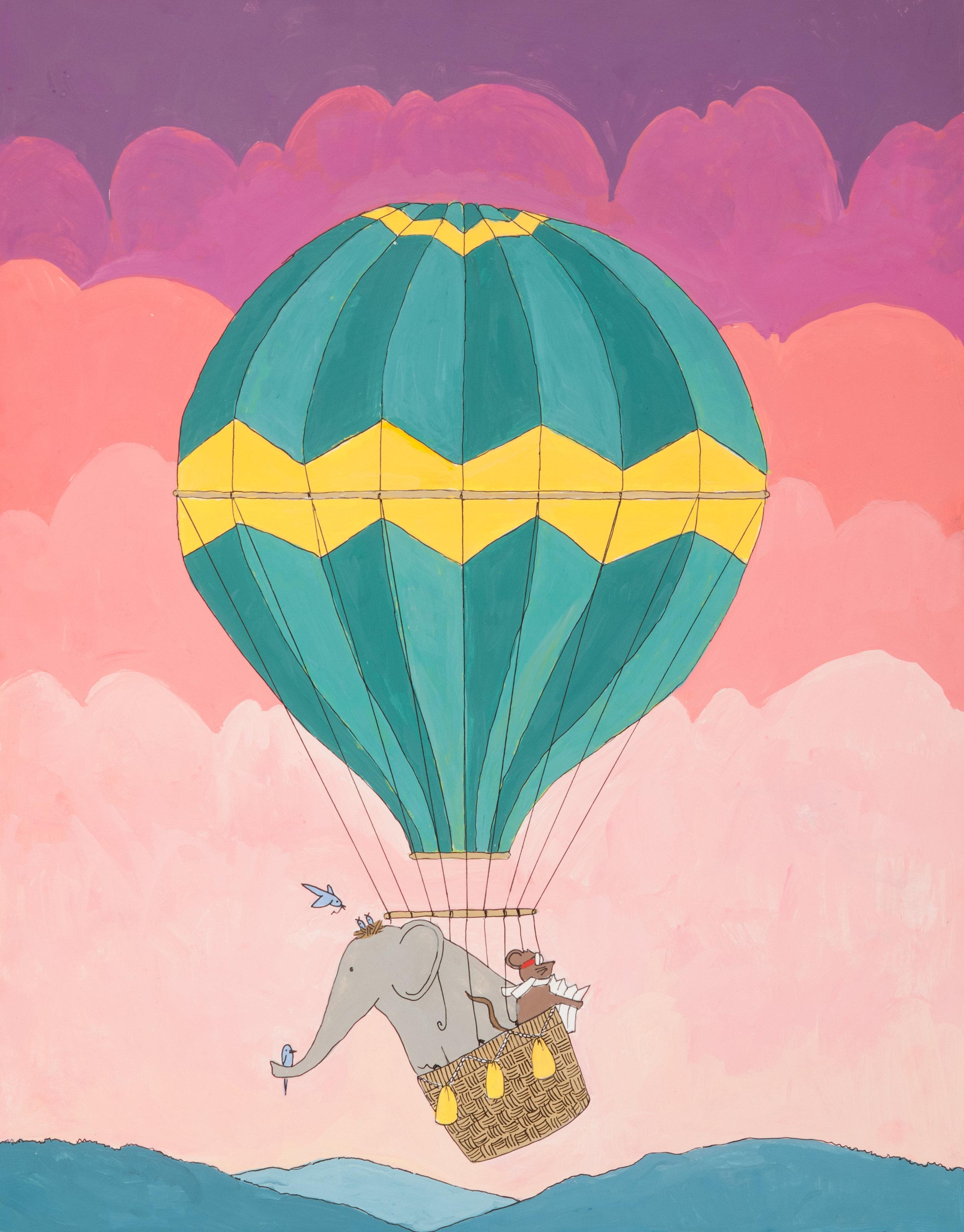 l'aventure en montgolfière