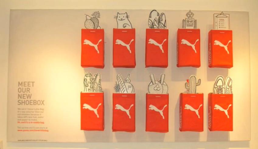 Yves Behar Puma Shoe Box