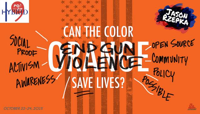 Jason Rzepka Orange Gun Violence