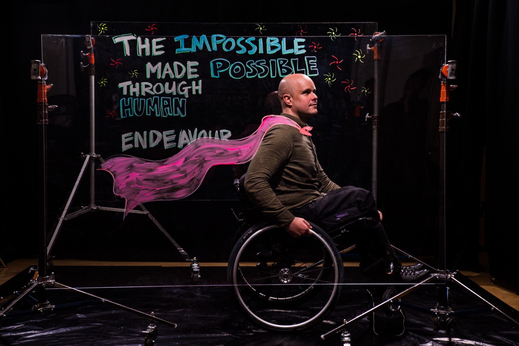 Unbroken by blindness in 1998, Mark Pollock went on to compete in ultra endurance races across deserts, mountains, and the polar ice caps including being the first blind person to race to the South Pole. He was left paralyzed after a 2010 fall from a second story window. He is now exploring the frontiers of spinal cord injury recovery combining an innovative electrical stimulator over his spinal cord and a drug super-charging his nervous system, whilst walking hundreds of thousands of steps as the world's leading test pilot of Ekso Bionics robotic legs.