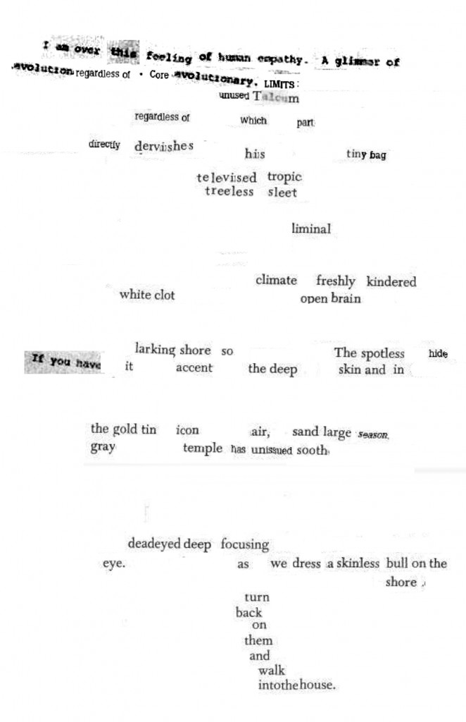 Let the Ponies Have Plenty of Room: Poem #32