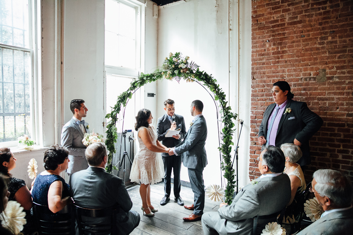 Flatbush Farms in Brooklyn is a great venue for an intimate wedding. Check out our  post on Maya and Dustin's wedding.