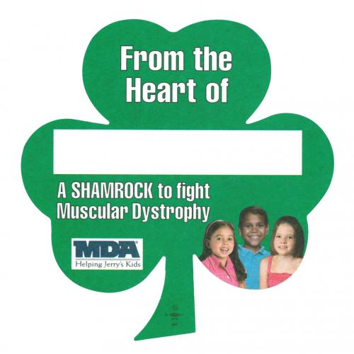 The most successful pinup in history, the MDA Shamrock. Learn how to match MDA's success with my   Summer Guide to Cause Marketing .