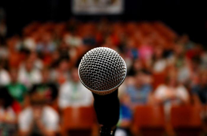 public speaking fundraisers