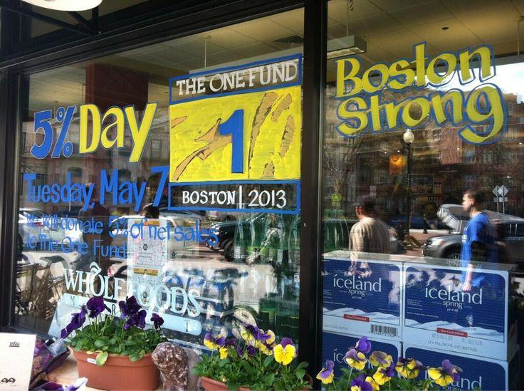 boston strong fundraiser
