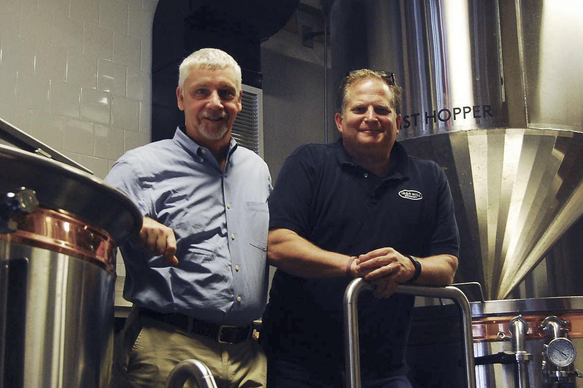 Kevin Finn &Mark Edelson, Iron Hill Brewery & Restaurant