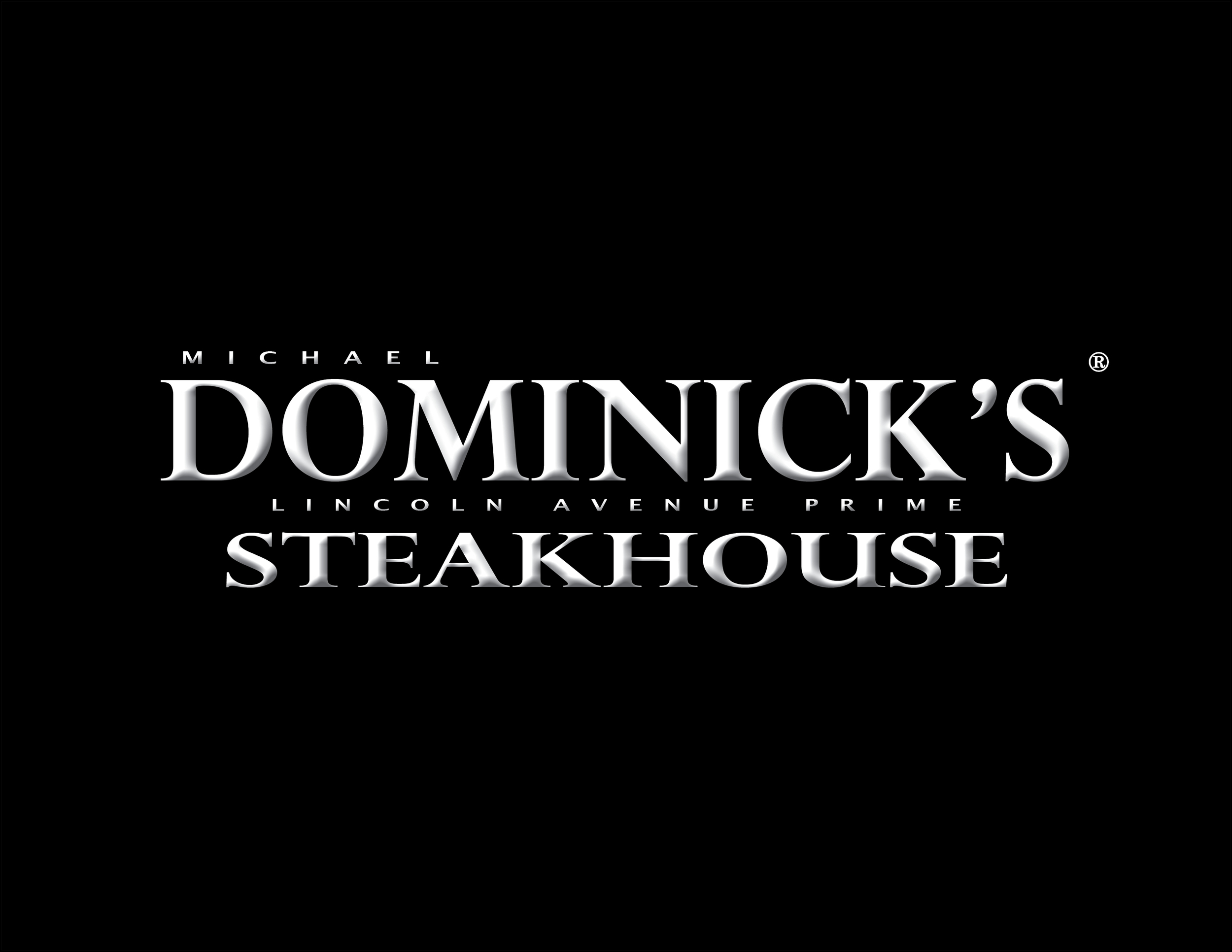 Dominick's Steakhouse registered LOGO white letter black back.jpg