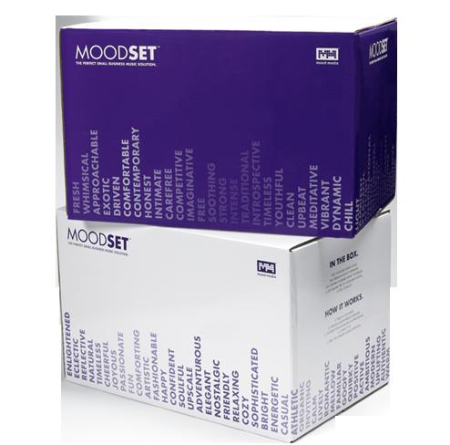 Moodset Packaging
