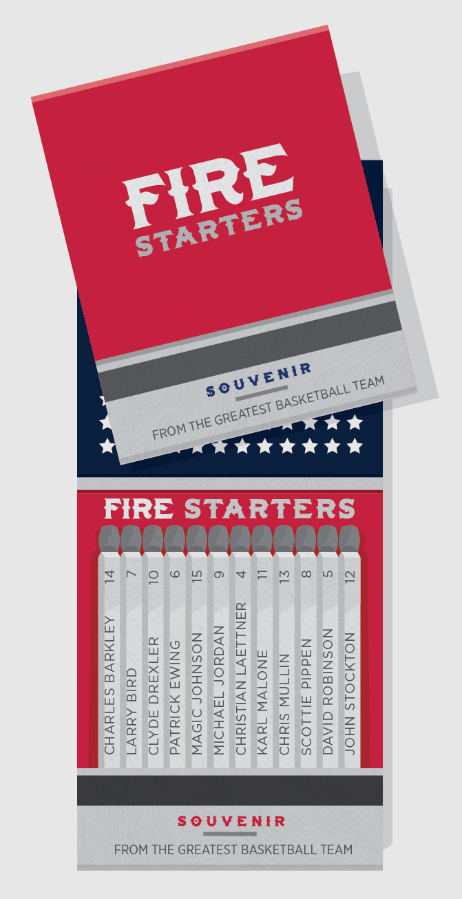 Fire Starters - The Dream Team