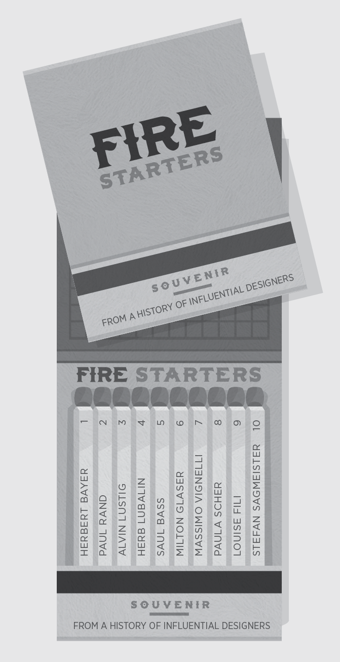 Fire Starters -  Influential Designers