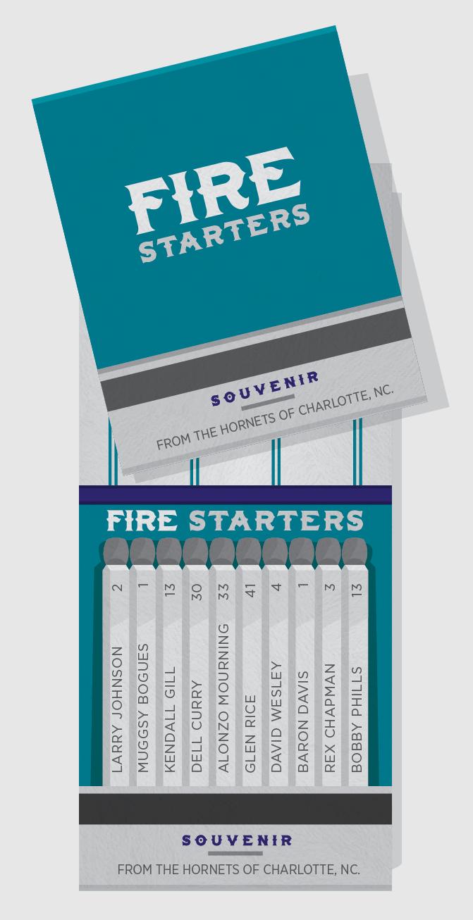 Fire Starters - Charlotte Hornets