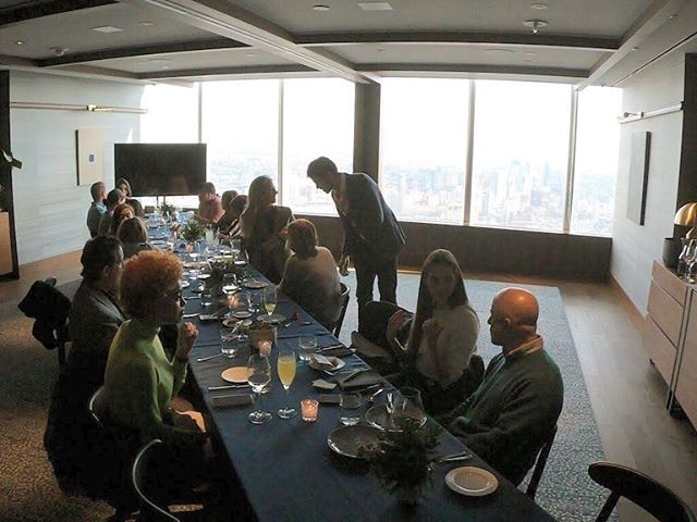 Day two of our 7 top memories of 2018 countdown and we're throwing it back to the QuadPay Media Lunch just last month in Manhattan. We gathered a few great friends to have a bite and talk about QuadPay - the new fintech company that lets you make your fashion retail purchases in four equal payments rather than one. 👏  By the way, check out that view from Manhatta restaurant! What are your favourite views in the city?  Link in bio for further deets on QuadPay. Thanks @lifevalet for the snaps.  #goodtobevocal