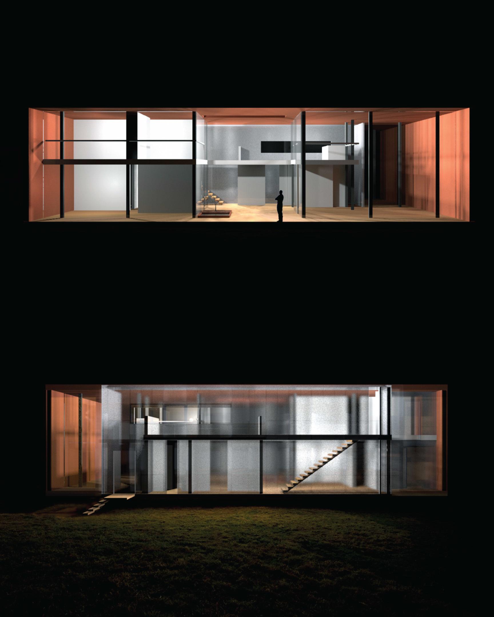 X House  // Quito Canton,Ecuador (night)