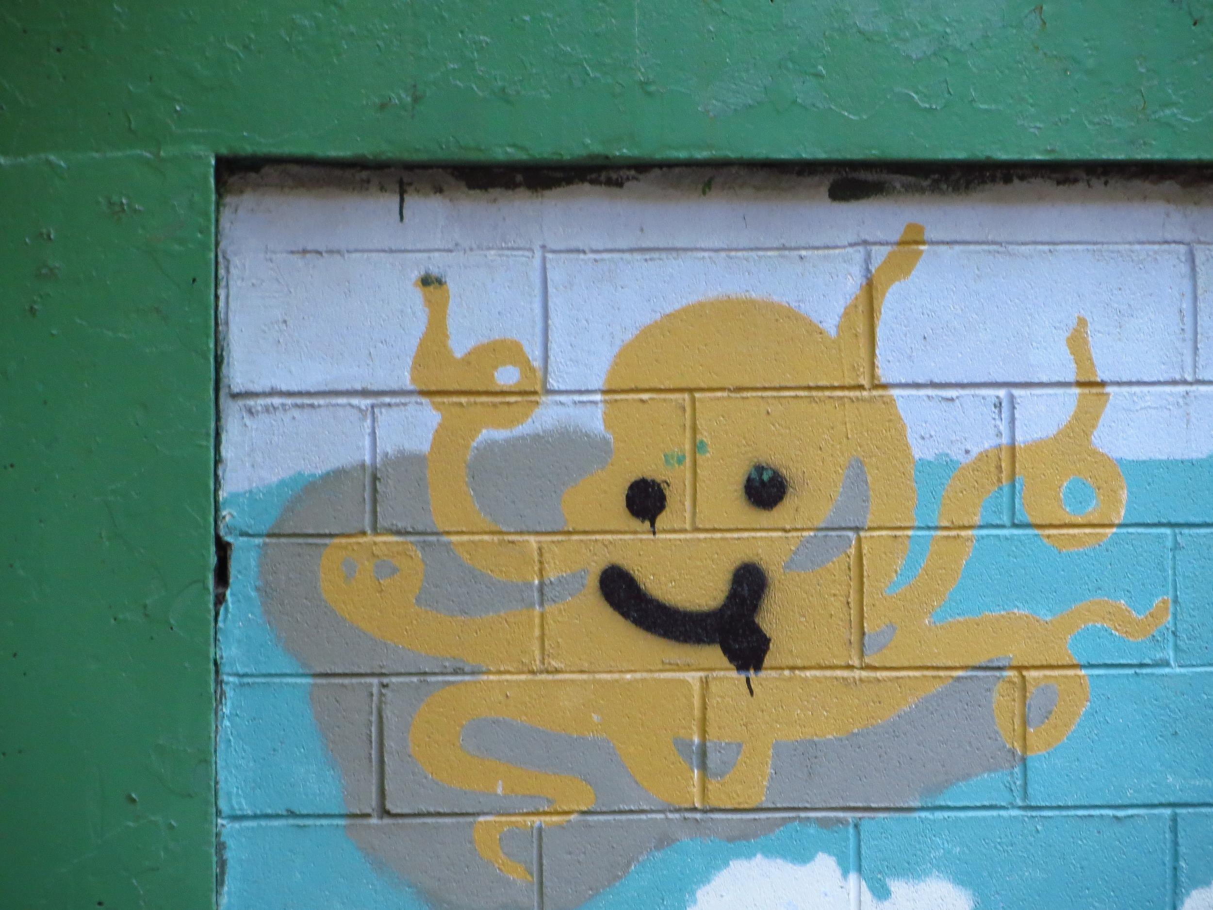 Happy Octopus #1