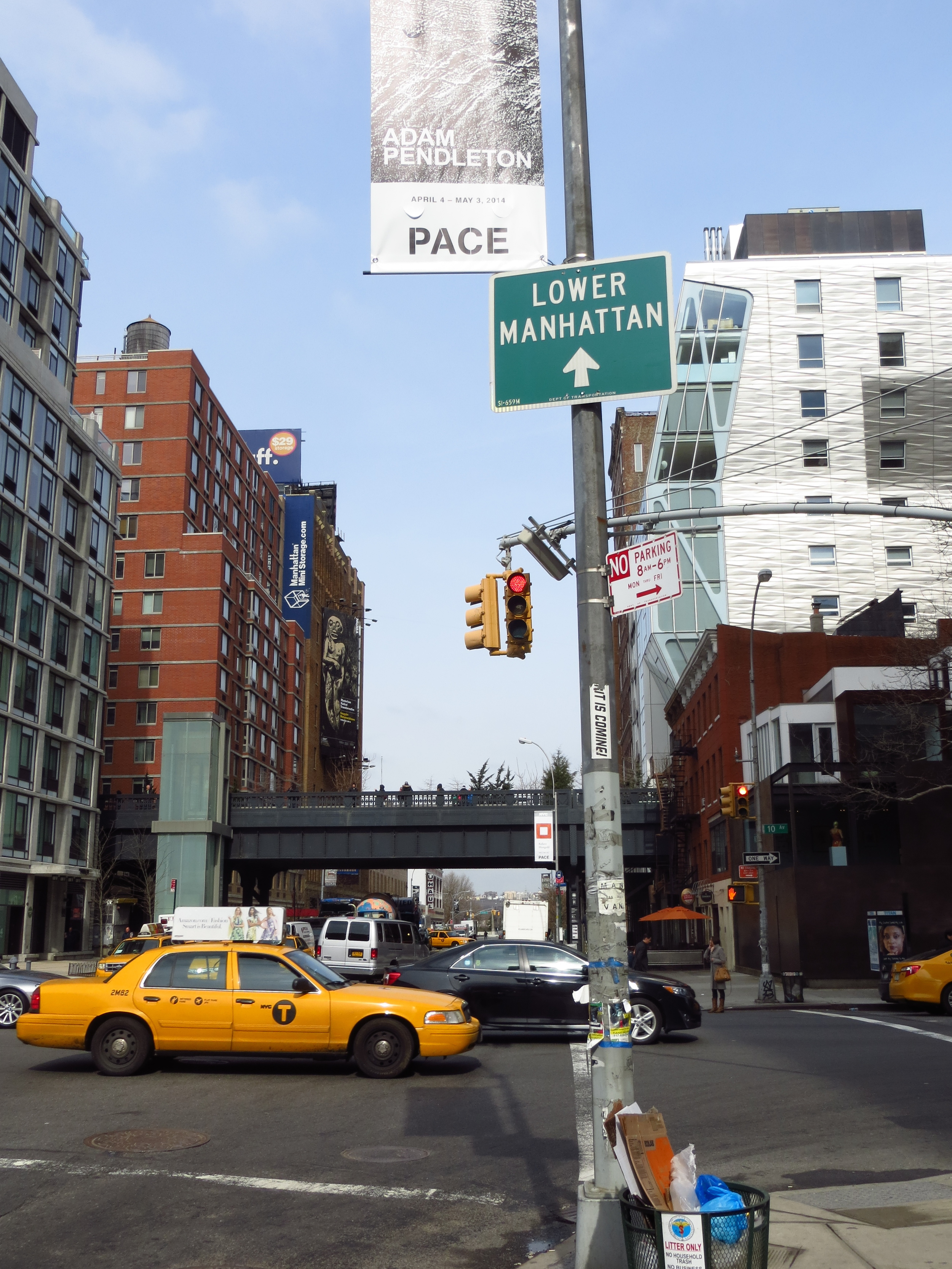 View of Highline in Chelsea #1