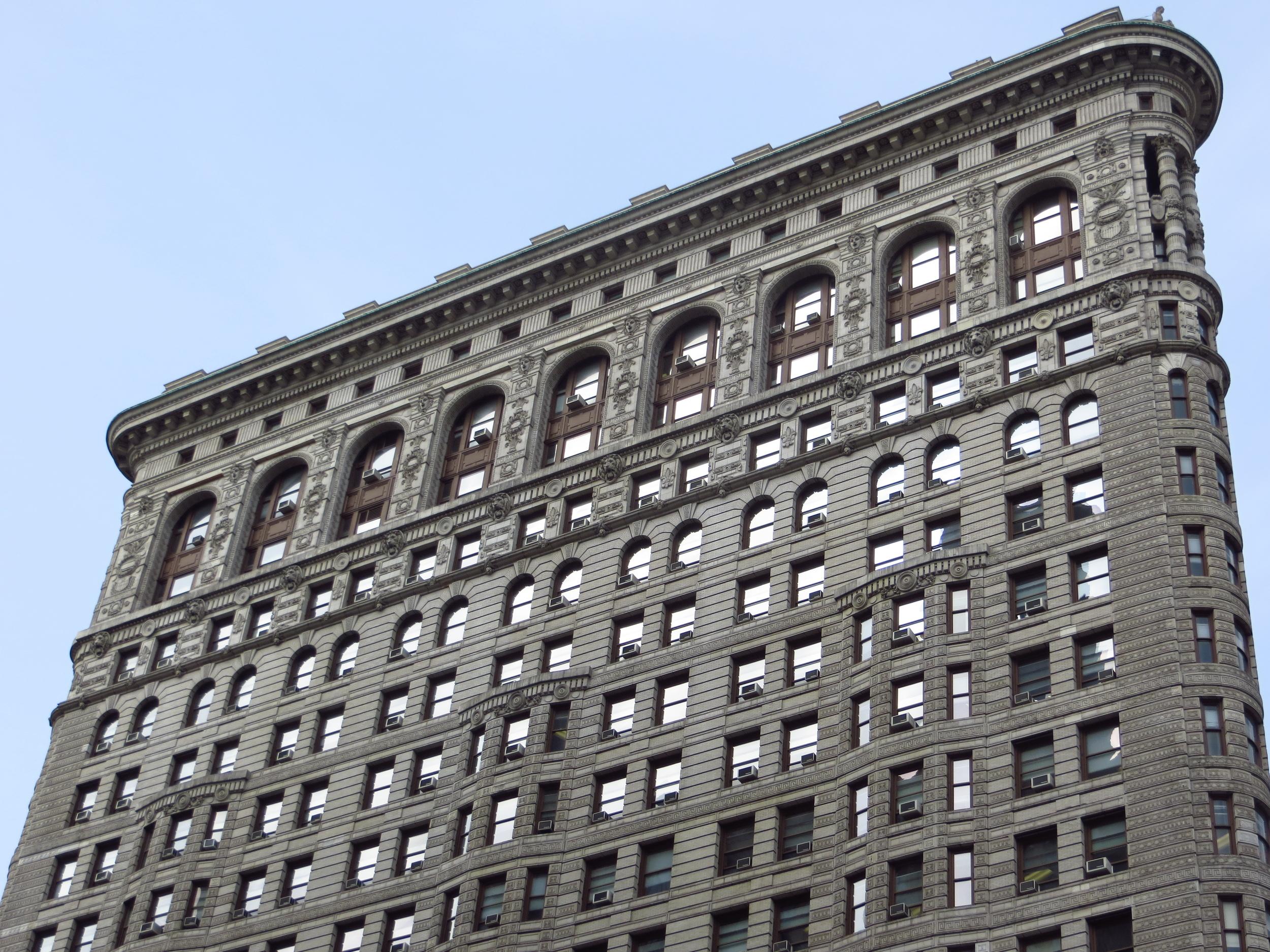 Side of Flatiron Building