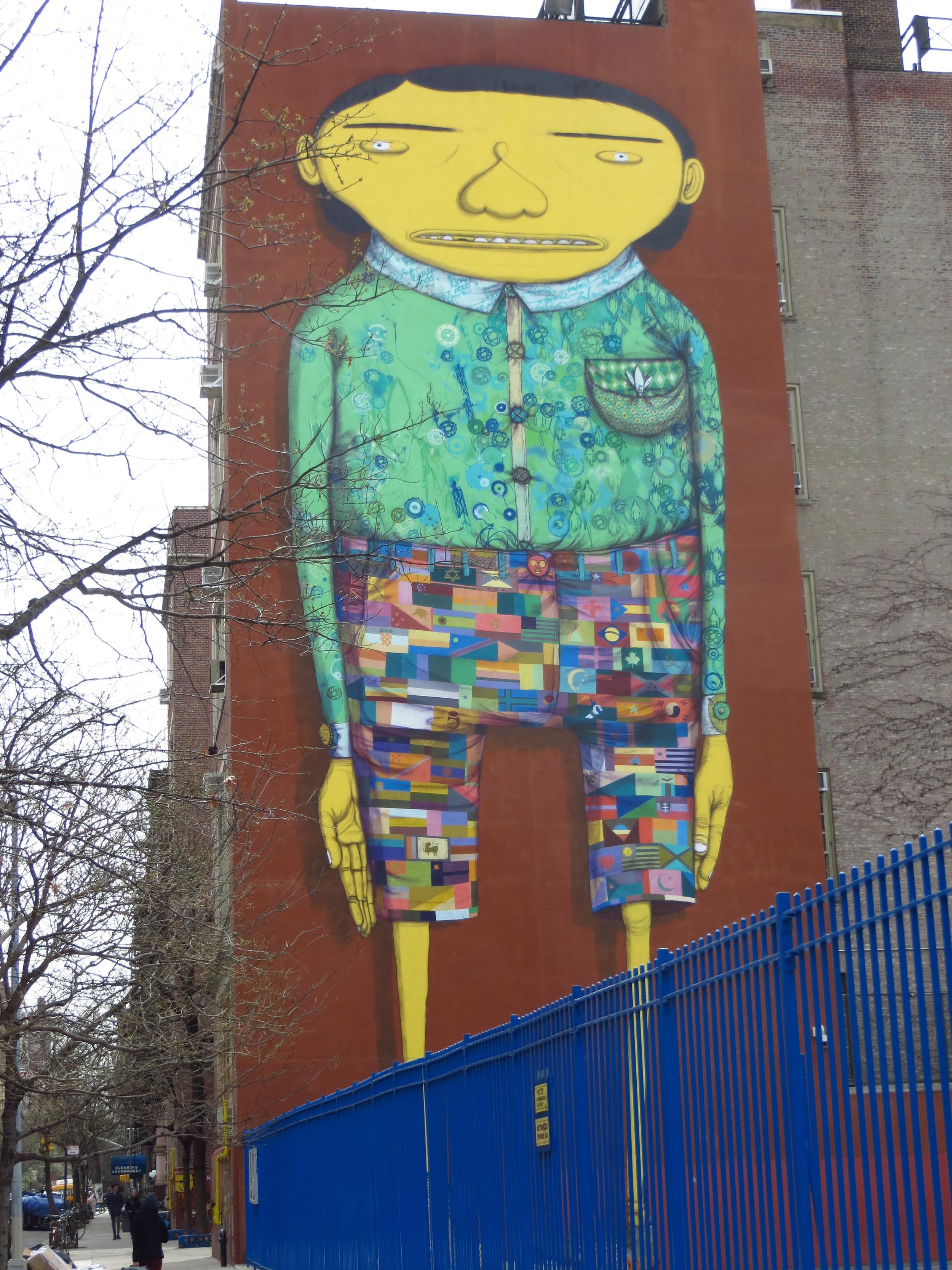 Awkward Kid street art