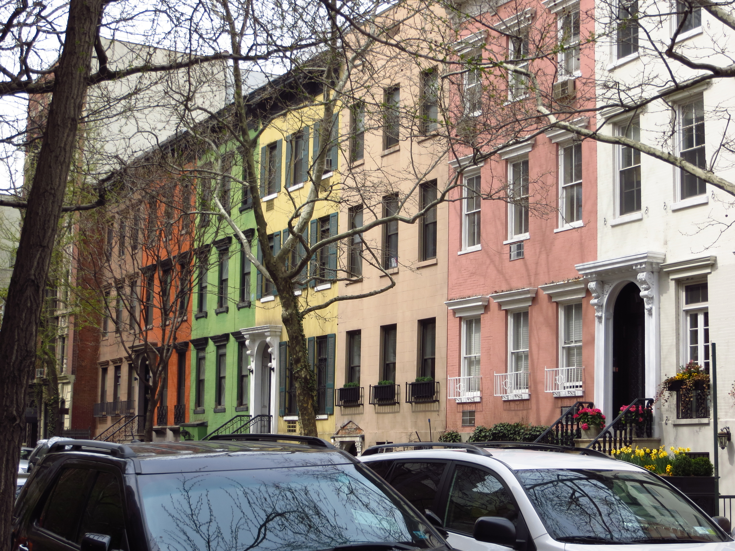 Cool townhouses