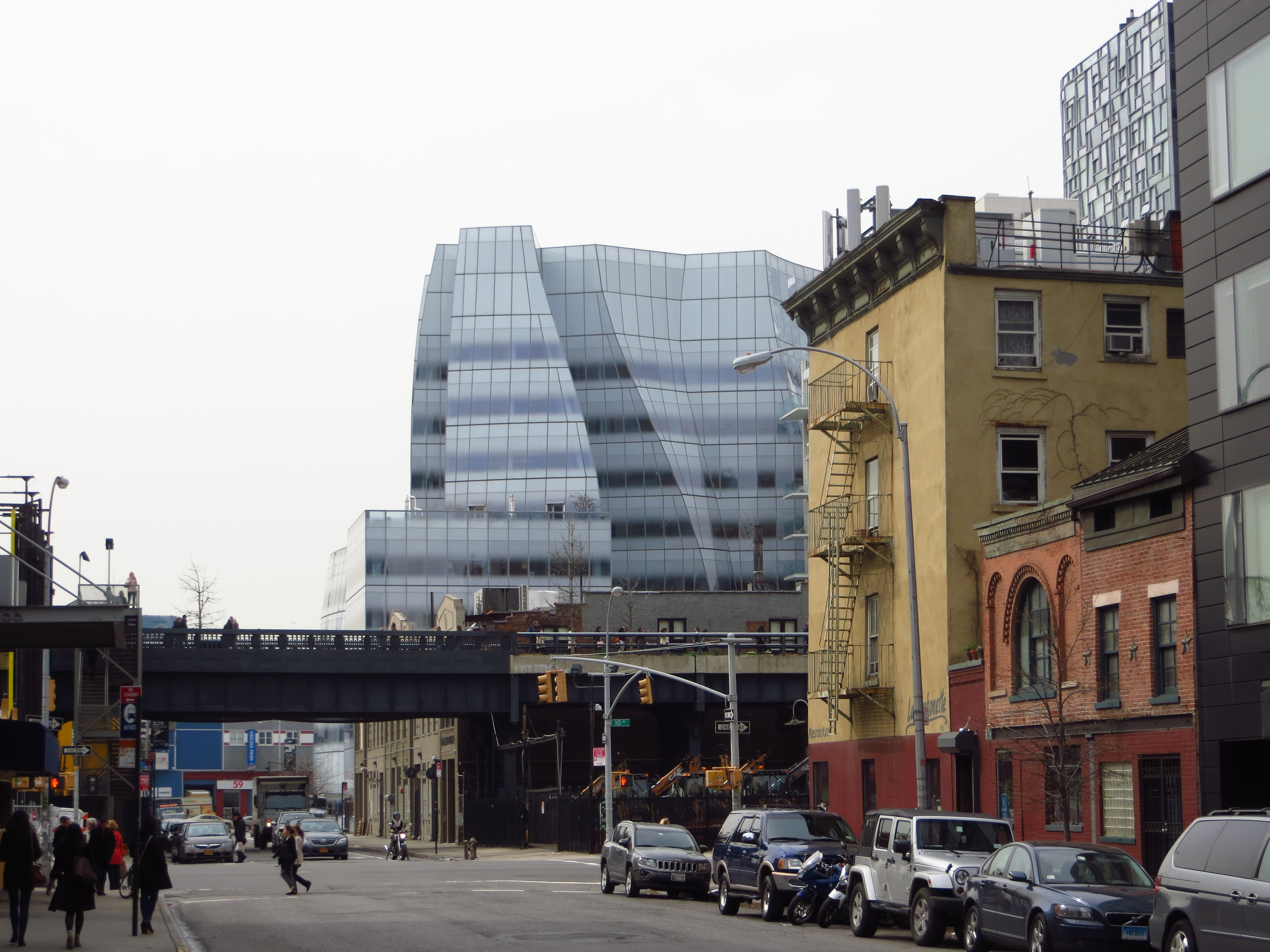 View of Highline in Chelsea #4