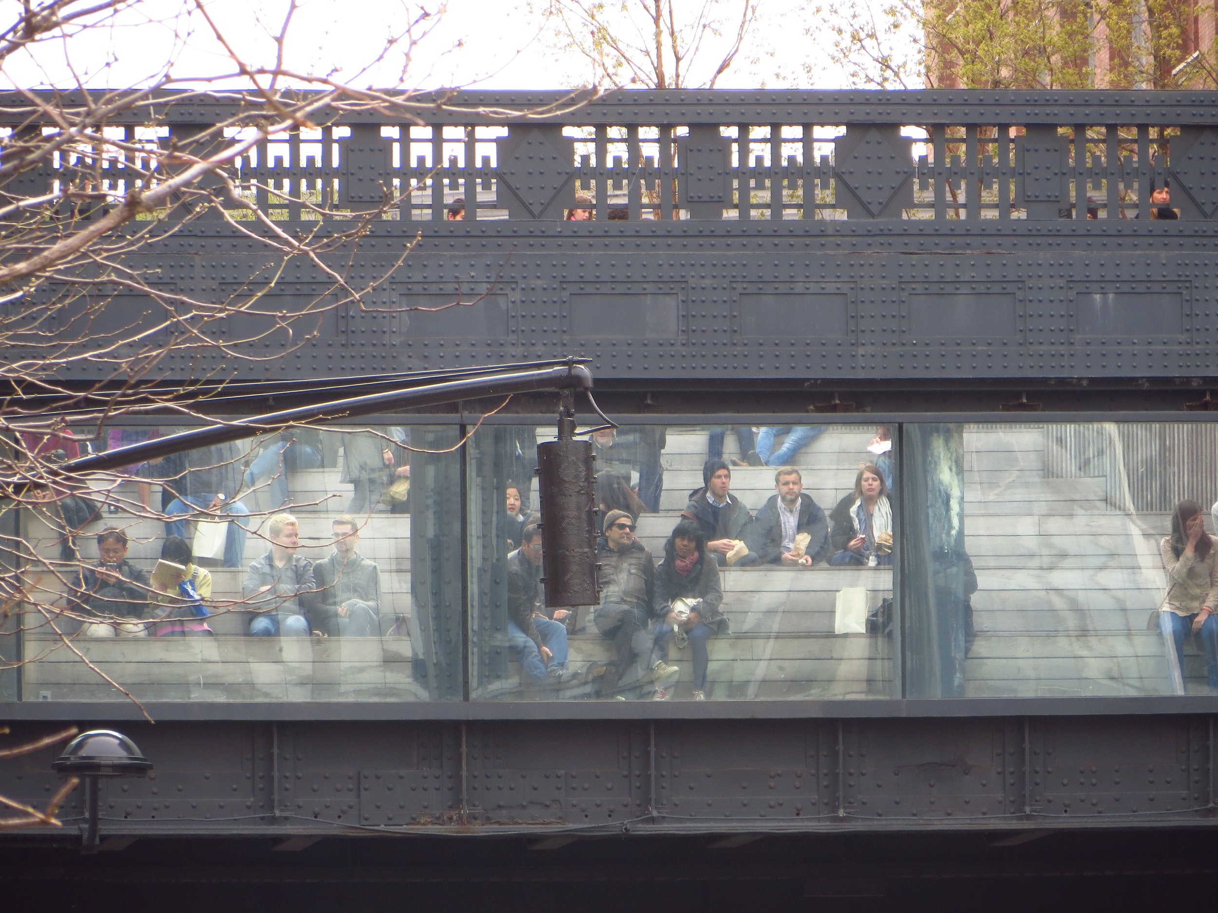 View of Highline in Chelsea #5