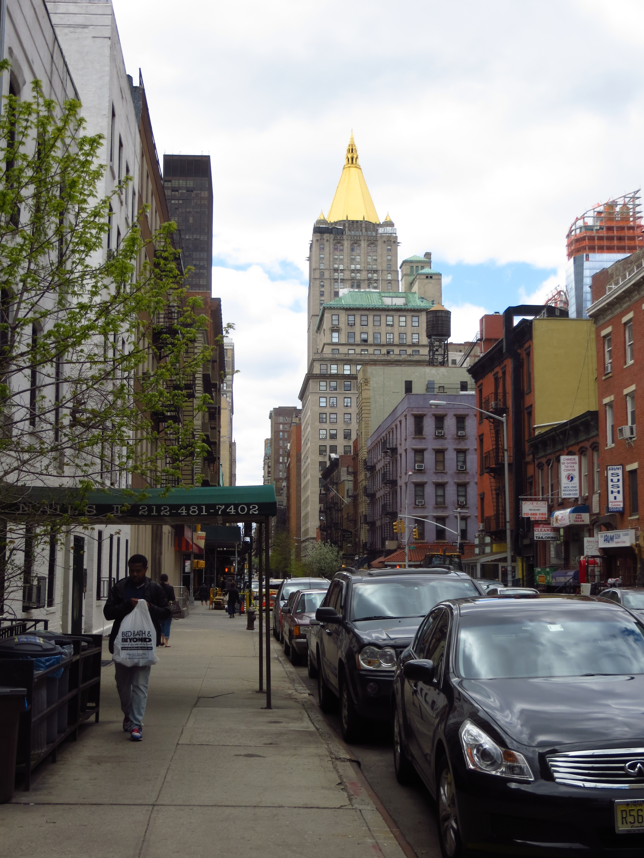 Street view w/New York Life Building #2