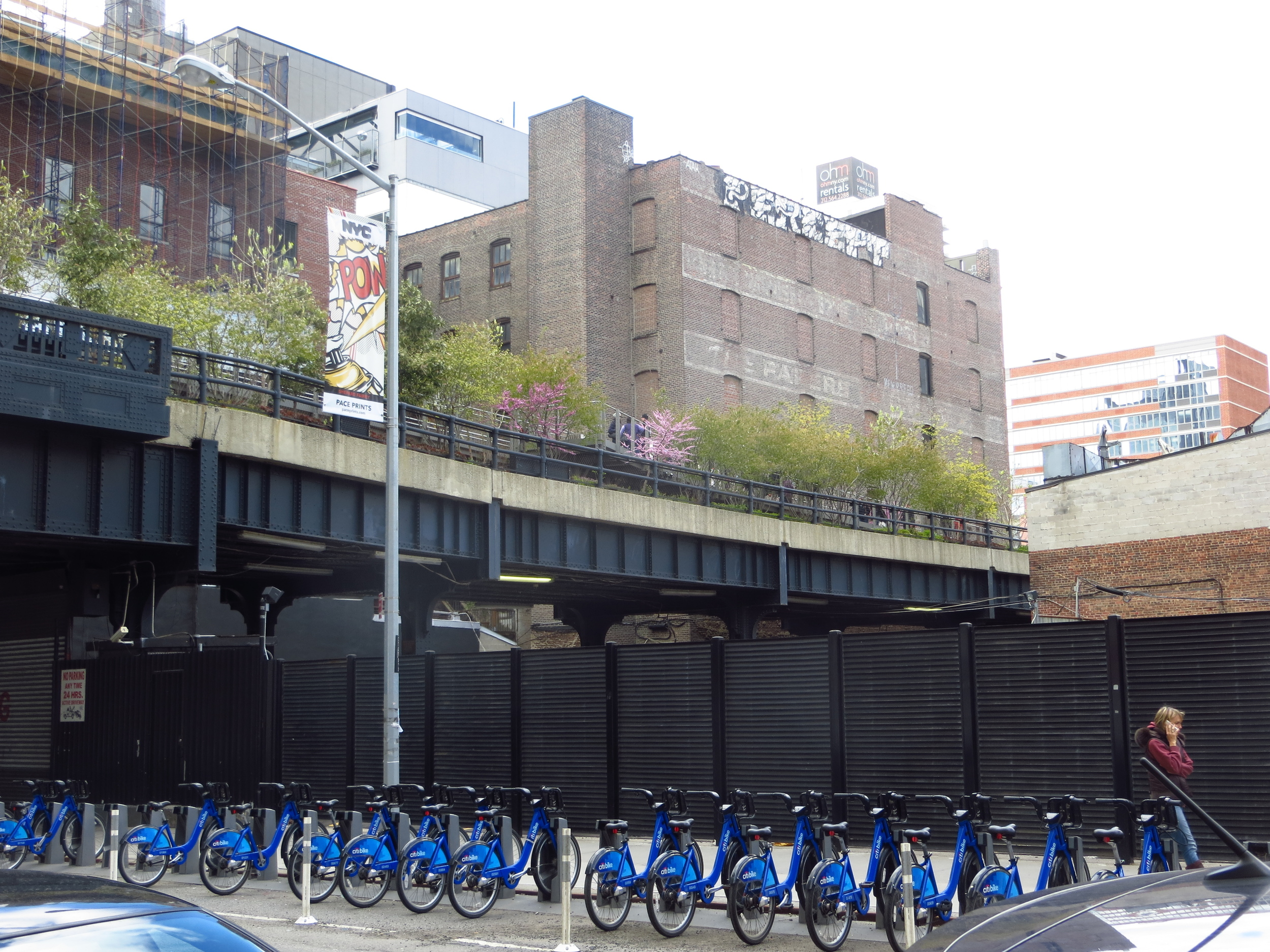 View of Highline in Chelsea #8