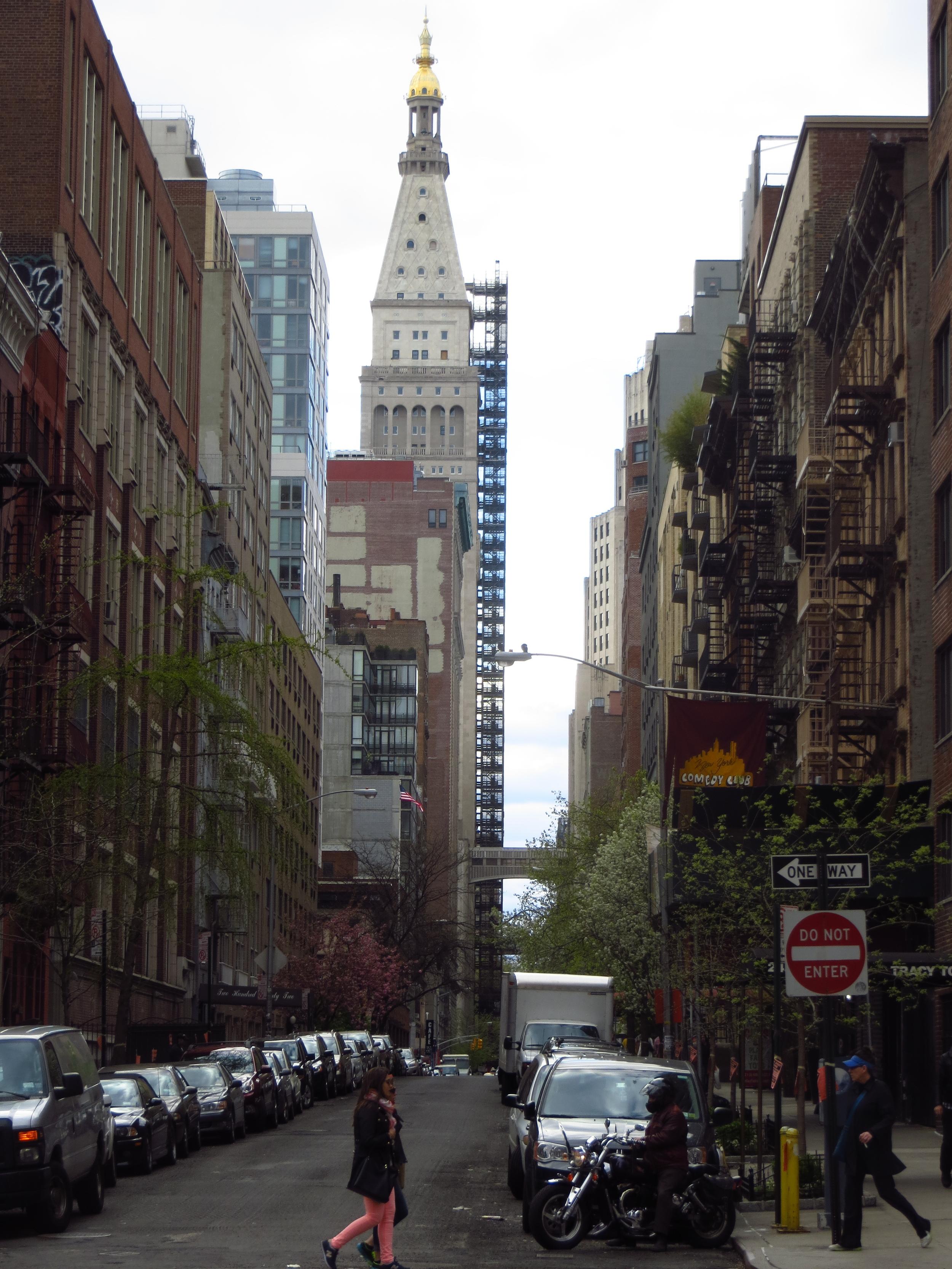 Street view of Met Life Building