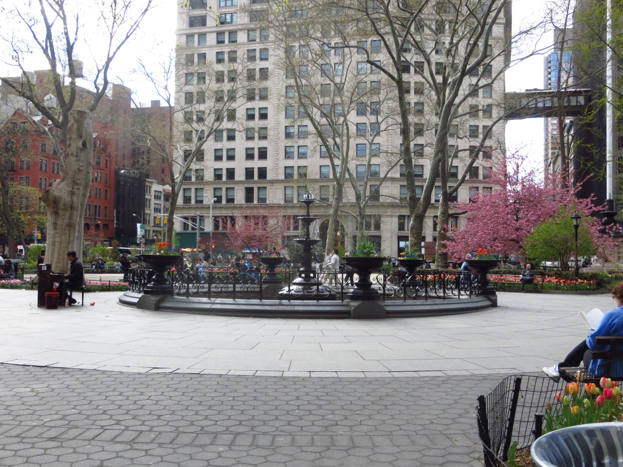 Piano in Madison Square Park