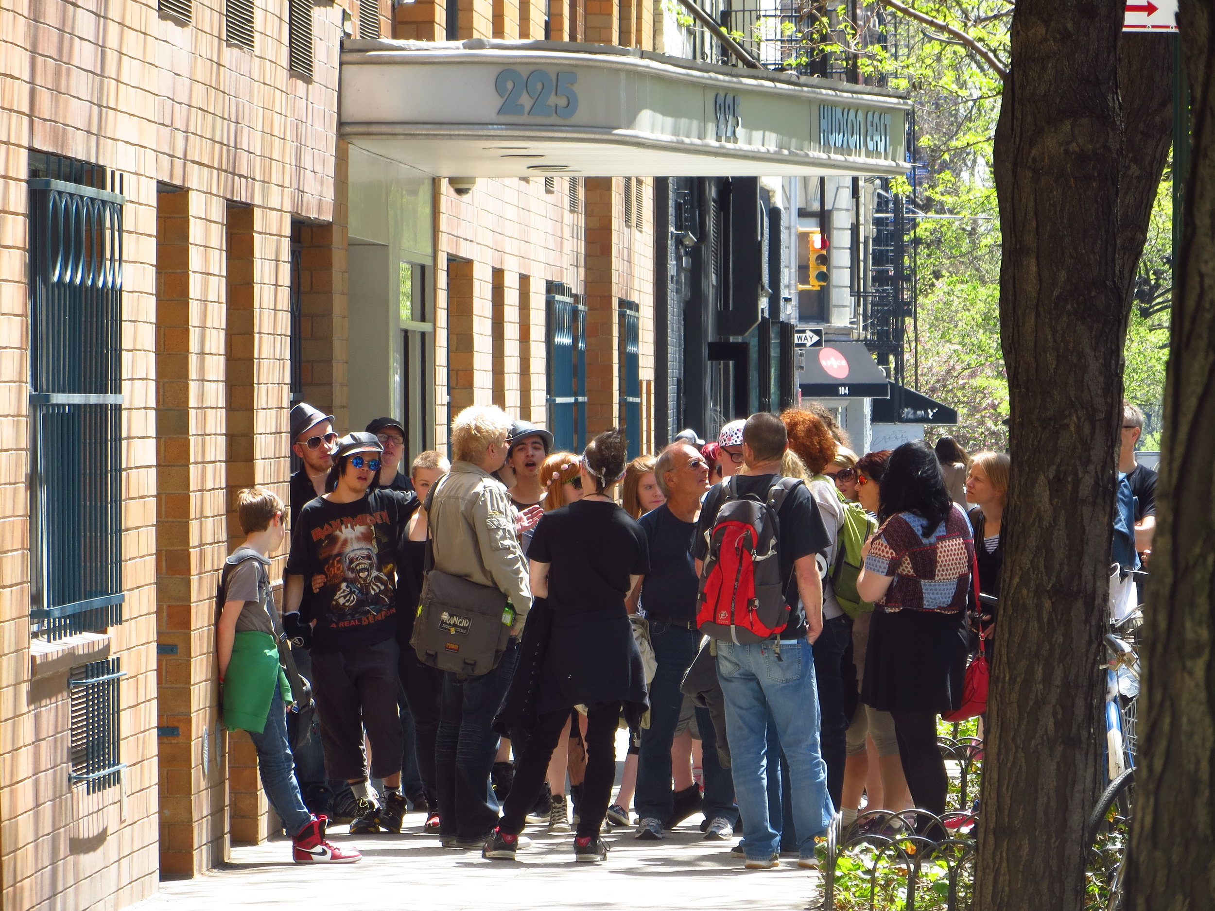 East Village rock and roll history walking tour