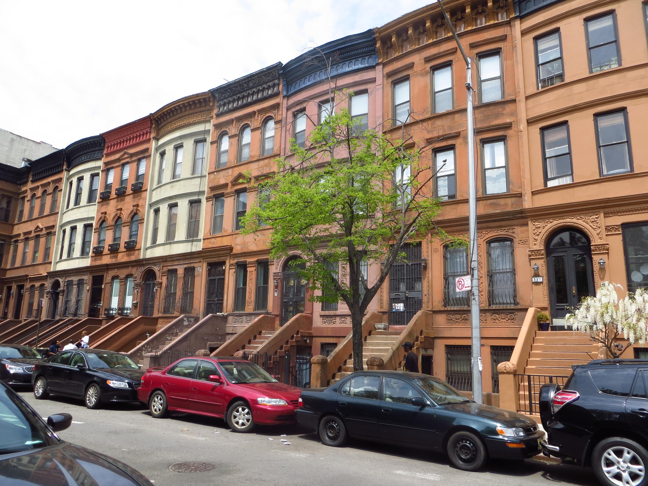 Still more Harlem brownstones