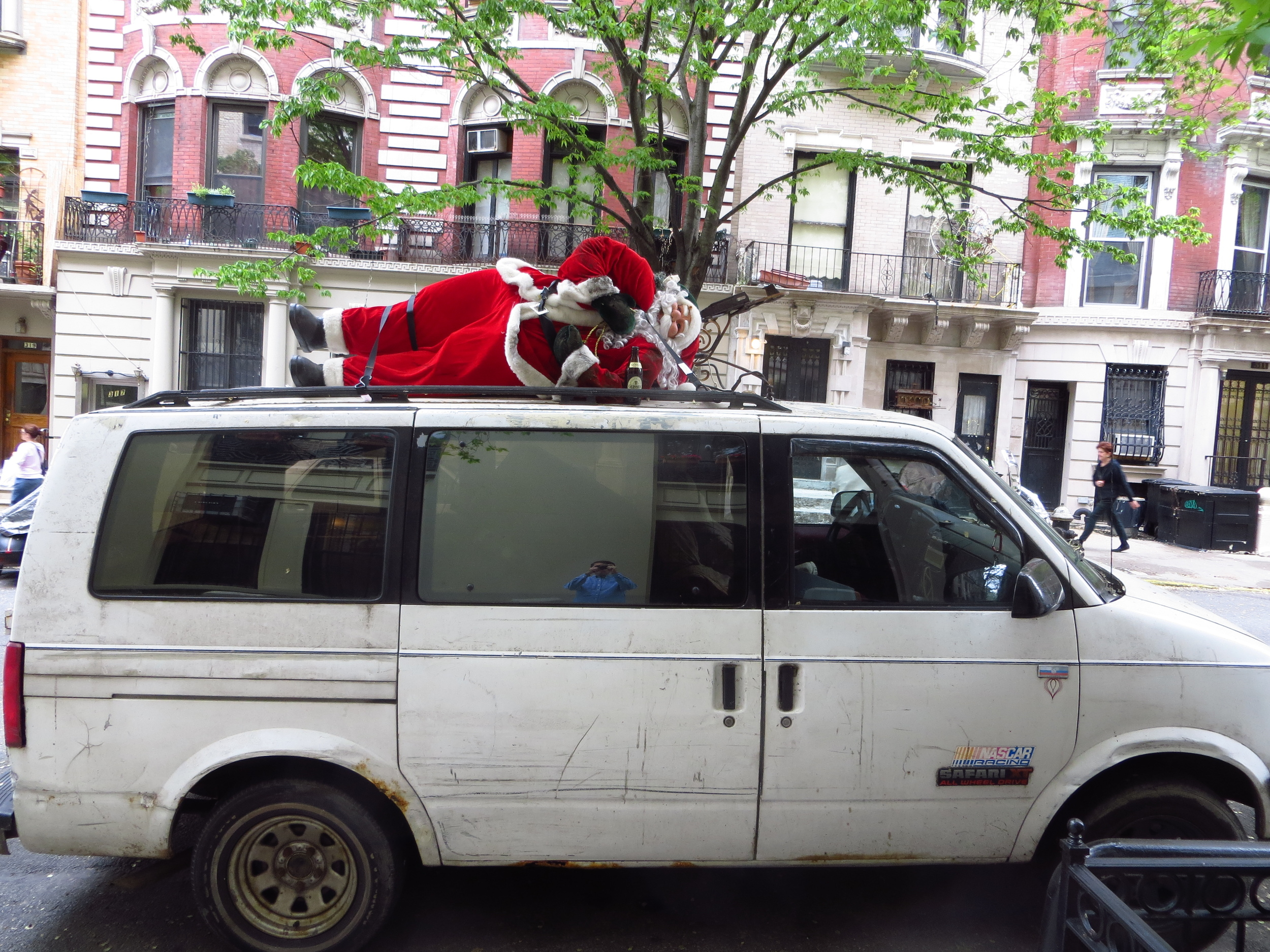 Soused Santa