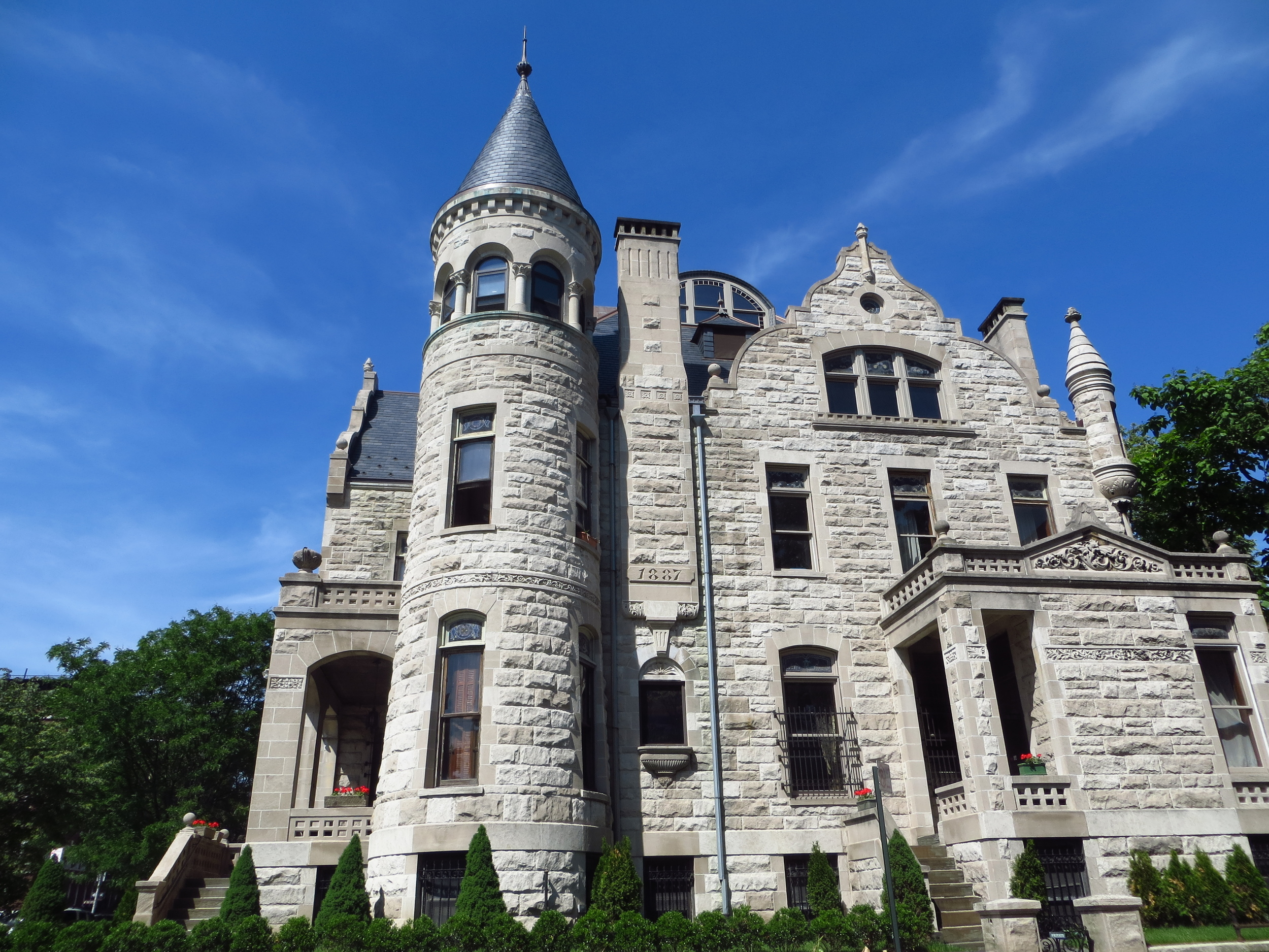 James Bailey mansion in Sugar Hill (of Barnum & Bailey fame)
