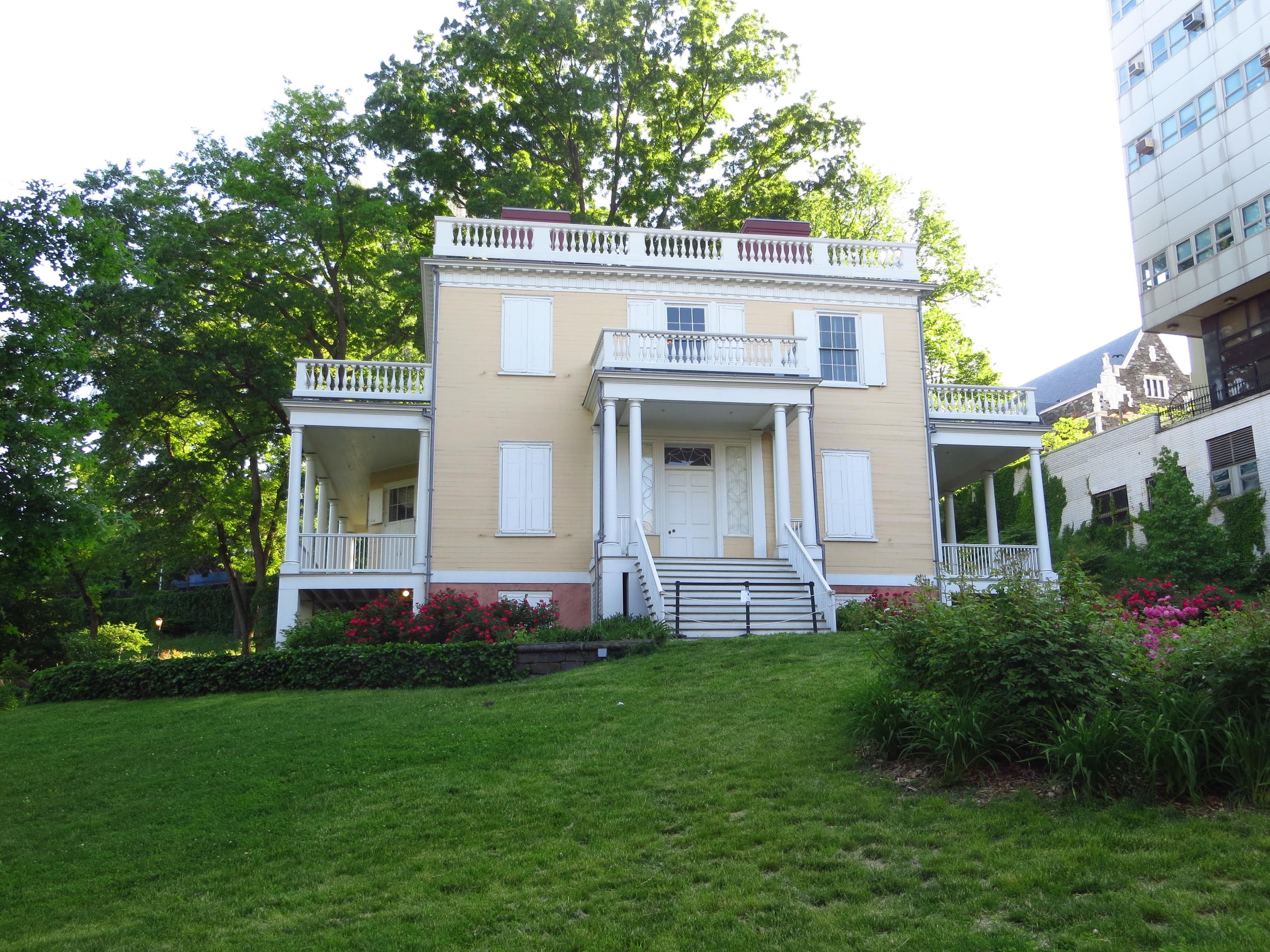 Alexander Hamilton's house (b. 1801)