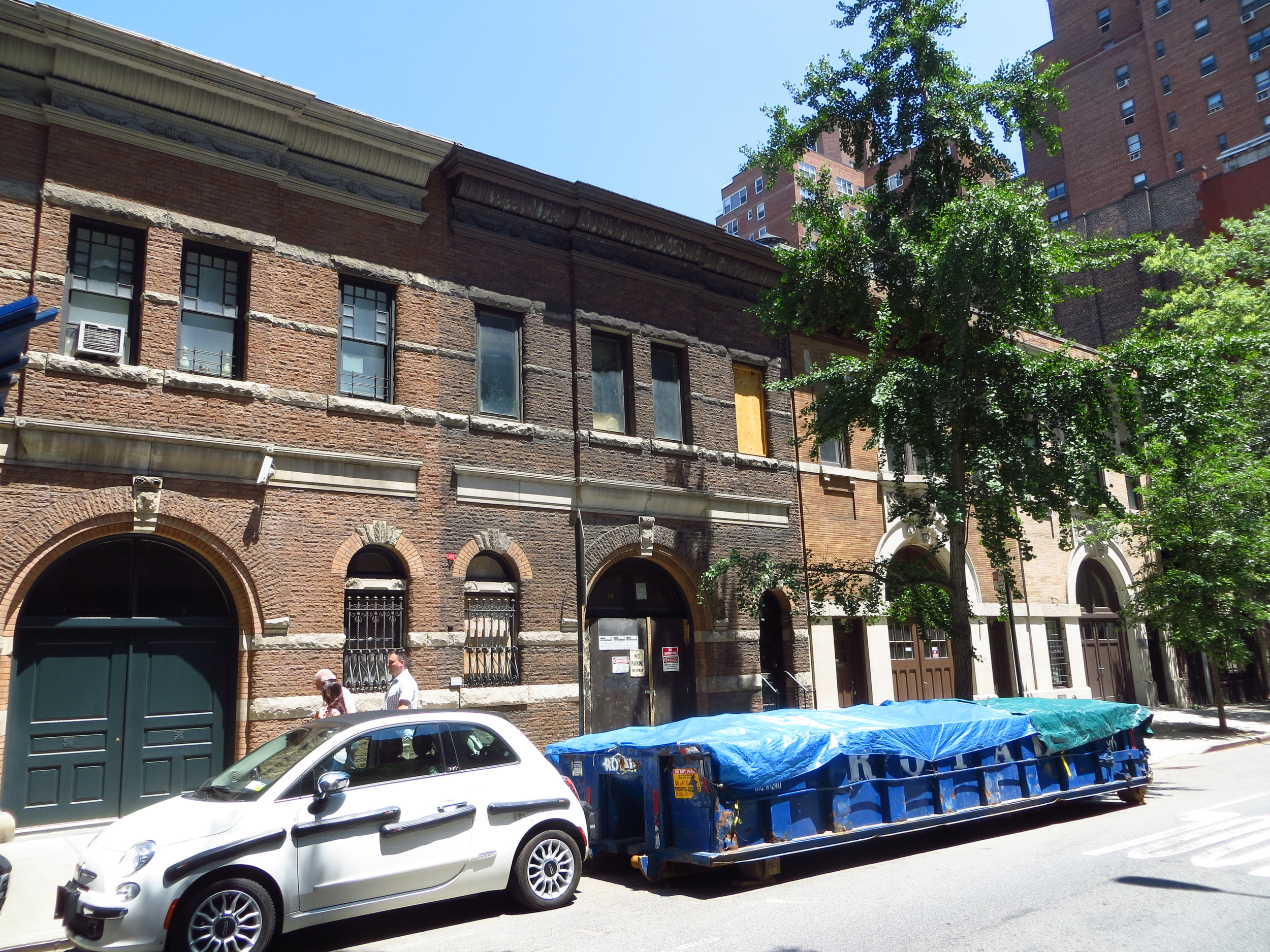 Old carriage houses
