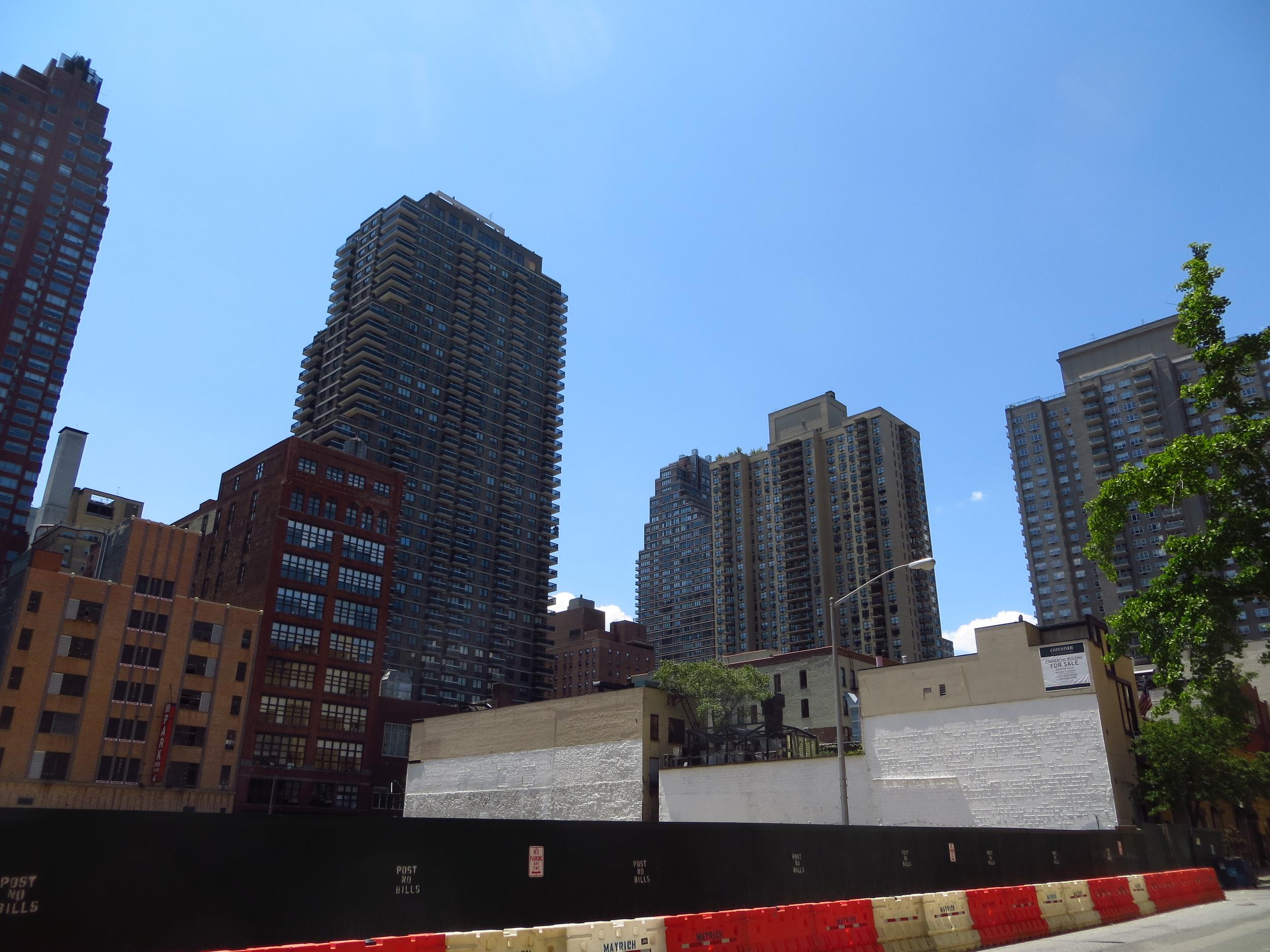 UES apartment buildings