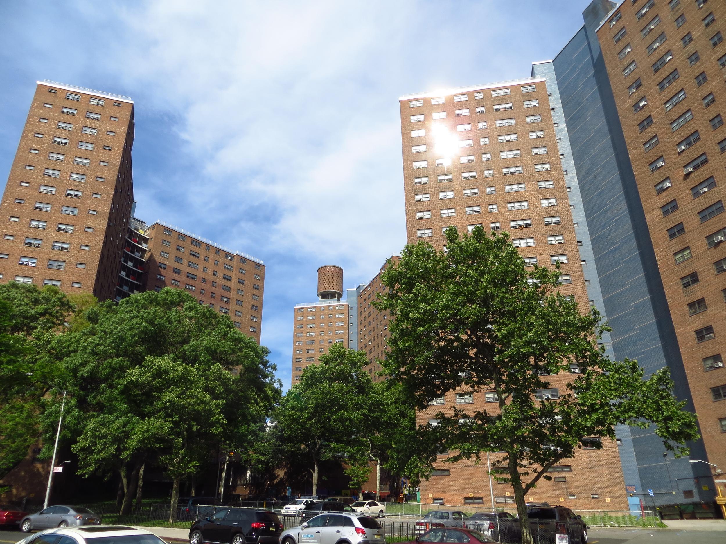 Large public housing complex