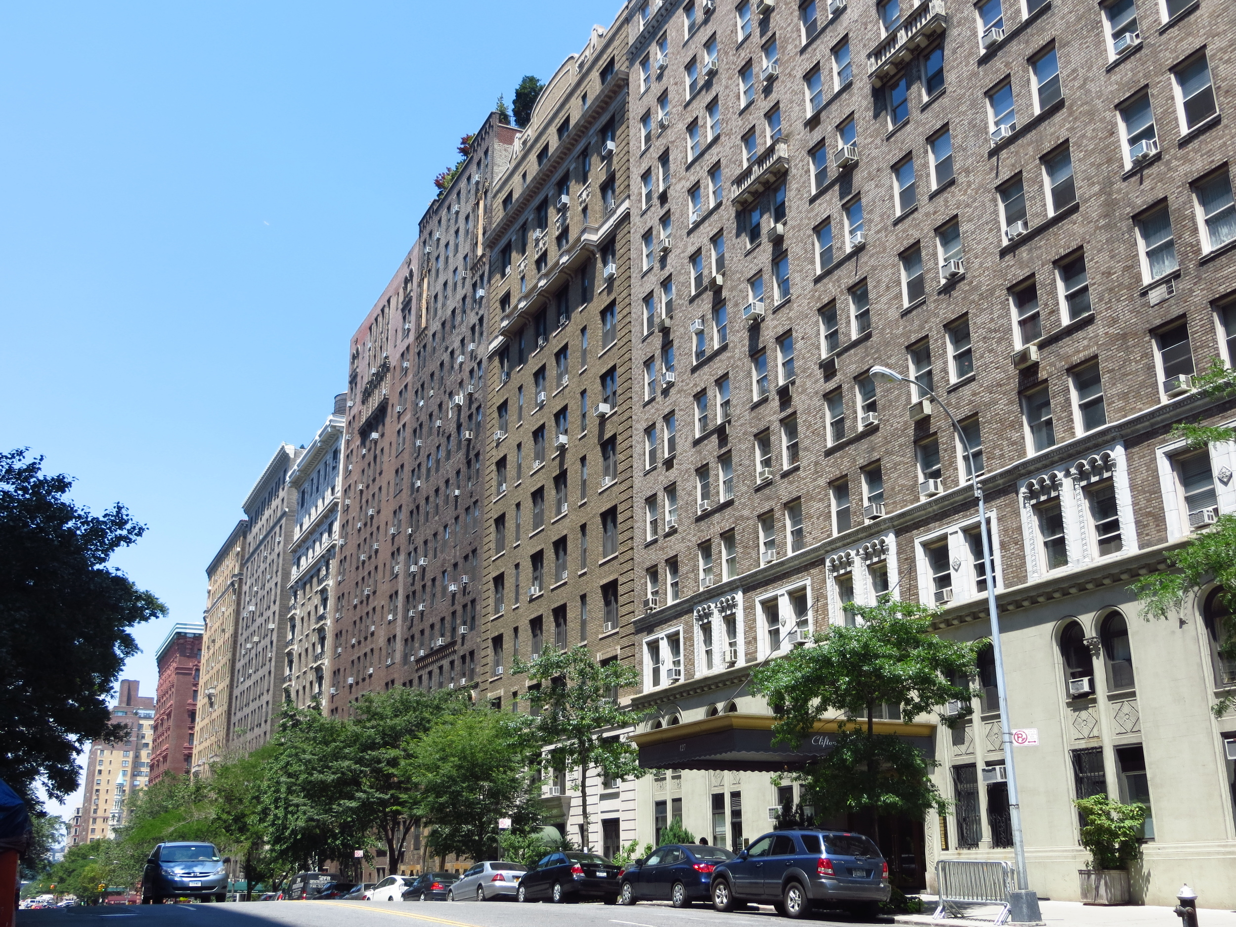 Pre-war apartments on 79th St.